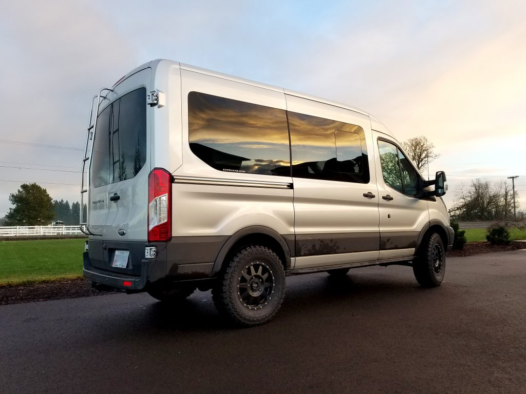 Unequaled Van Conversions And Components For Ford Transit
