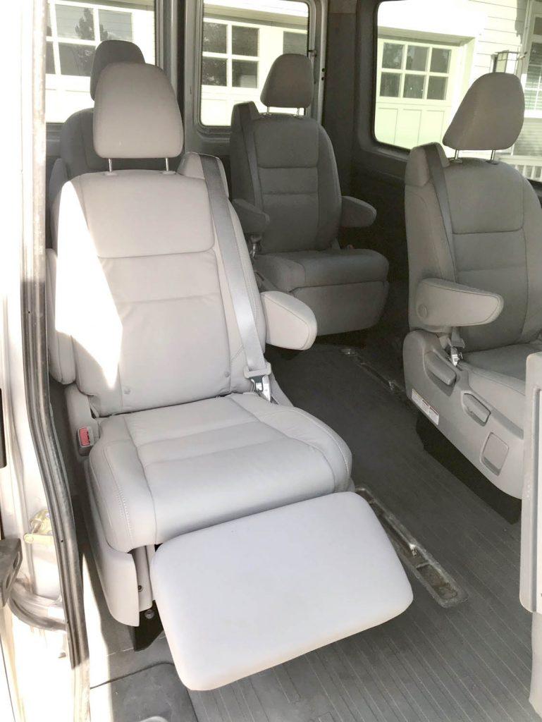 Bolting Seats To Van Floor