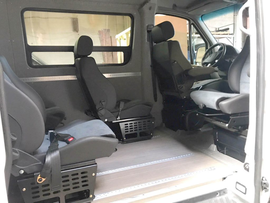 Innovative Van Conversions & Components For Mercedes